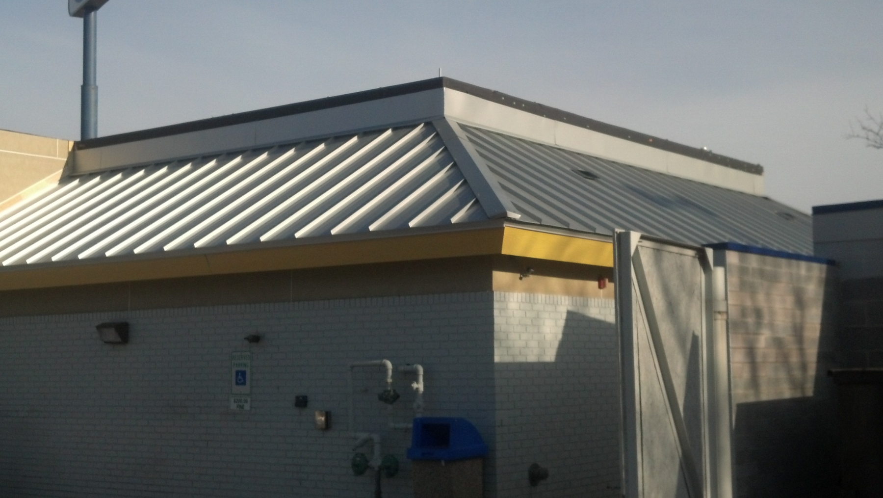 Standing Metal Seam Work
